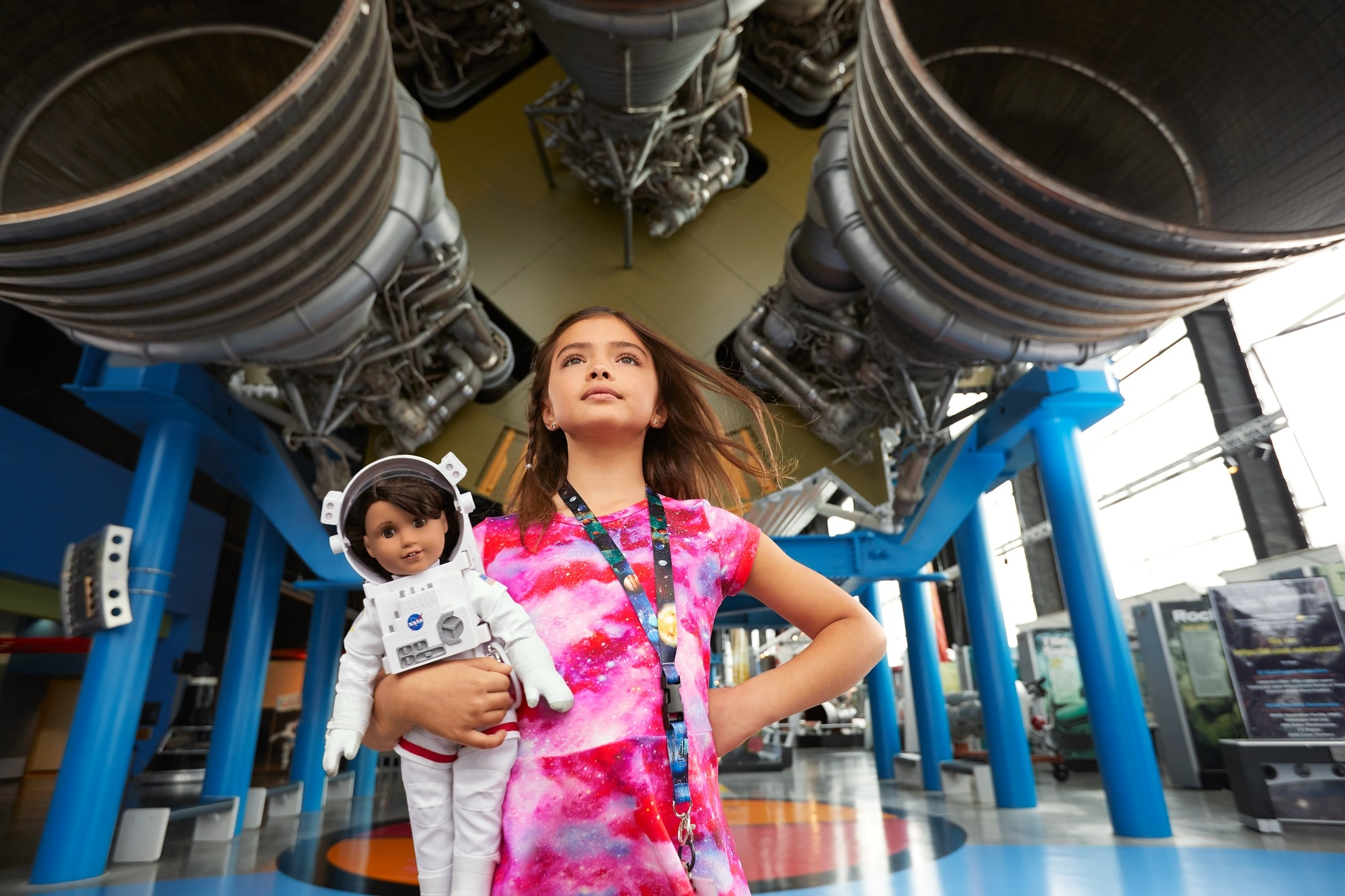 NASA lends a hand to new American Girl doll with Mars aspirations. The company partnered with the space agency to inspire kids to pursue STEM-related fields.