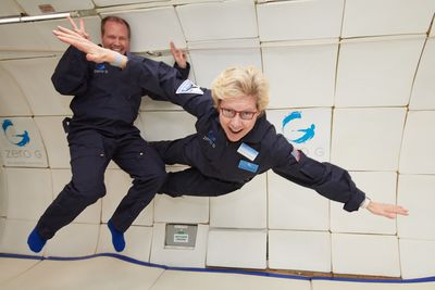 HP TOOK ME ON A ZERO-GRAVITY FLIGHT TO PROMOTE THEIR SPACE PRINTER. The brand activation I didn't know I was waiting for