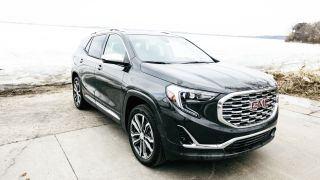 This compact sport utility vehicle worked overtime to avoid a crash. 2018 GMC Terrain Denali has three levels of collision detection