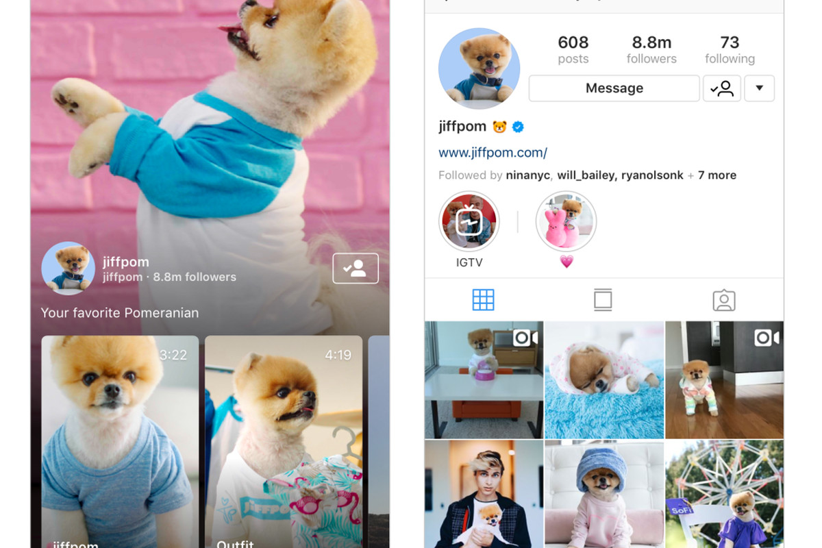 Instagram anuncia IGTV, una aplicación independiente para vídeos. Después de YouTube-con video vertical