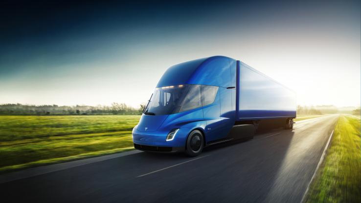 Walmart planea probar el nuevo Tesla Semi