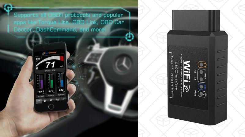 Habla el idioma de tu auto con este dong wifi de $ 12 OBD2
