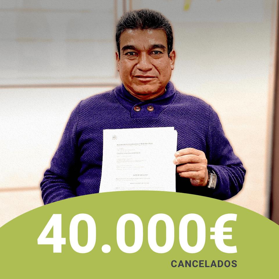 Repara tu deuda abogados liberan de 40.000 eur con a Ley de la Segunda Oportunidad a una persona de Ecuador