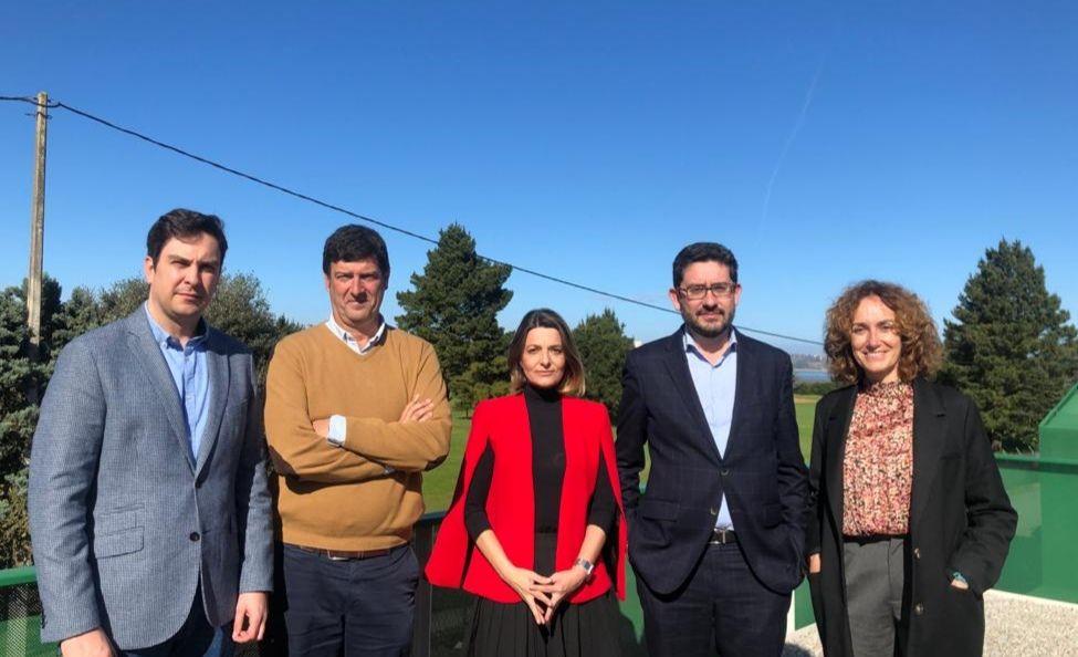 Aldro Energía patrocinará el campo de golf La Junquera, en Pedreña, durante los próximos tres años