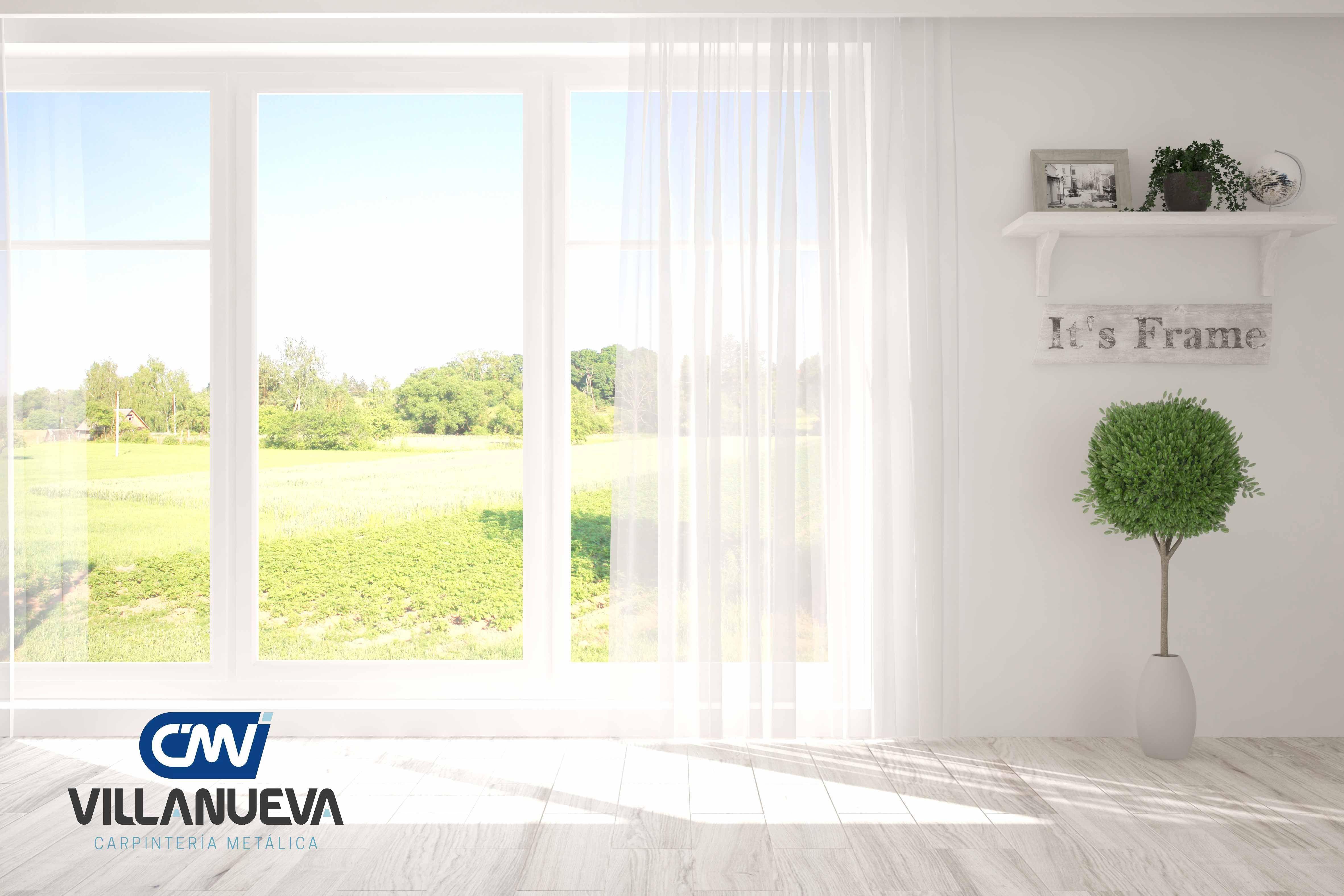 Carpintería Metálica Villanueva da las claves para mejorar el confort de las casas