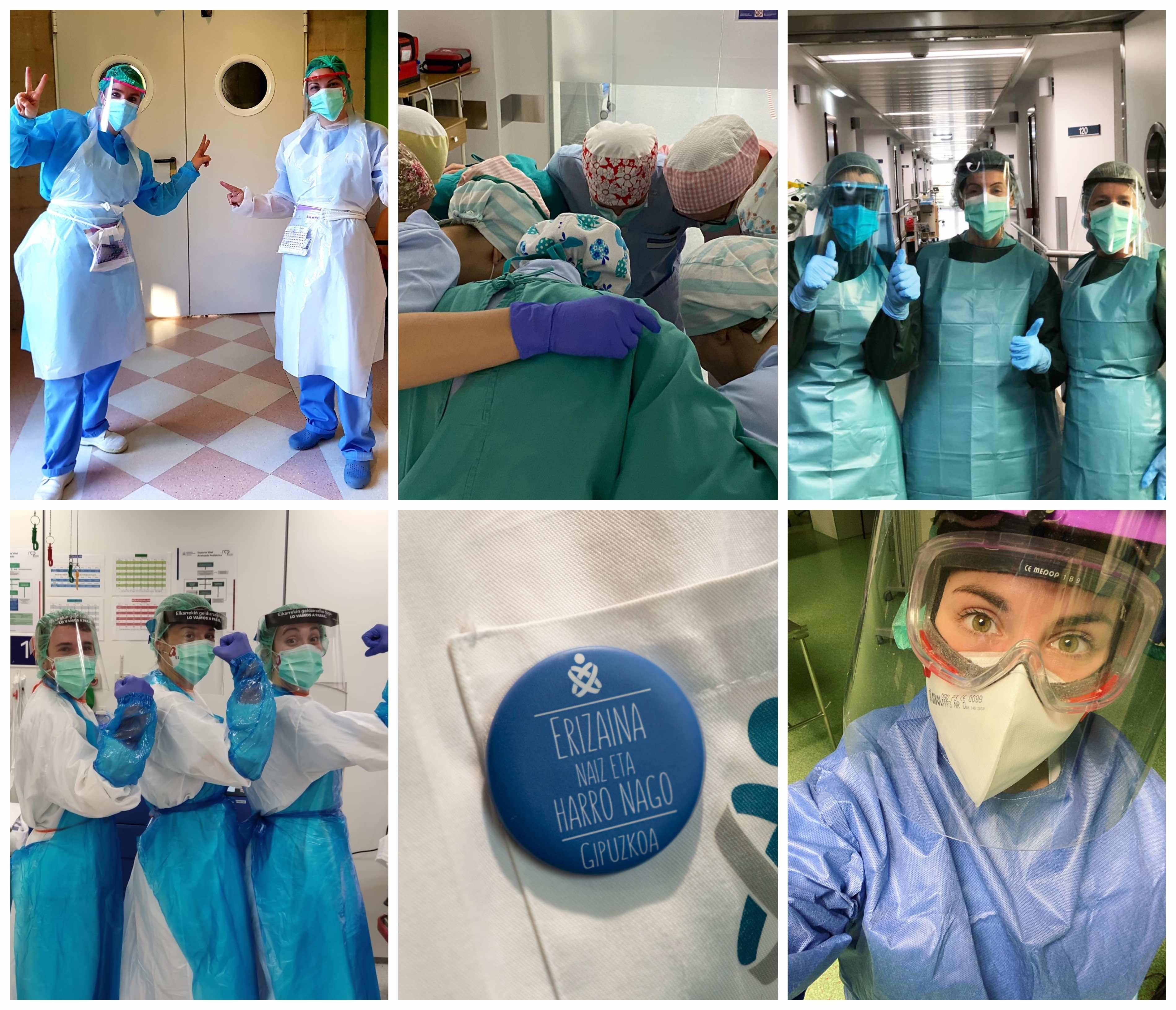 Más de 5.200 enfermeras conmemoran en Gipuzkoa el próximo martes el Día Internacional de la profesión