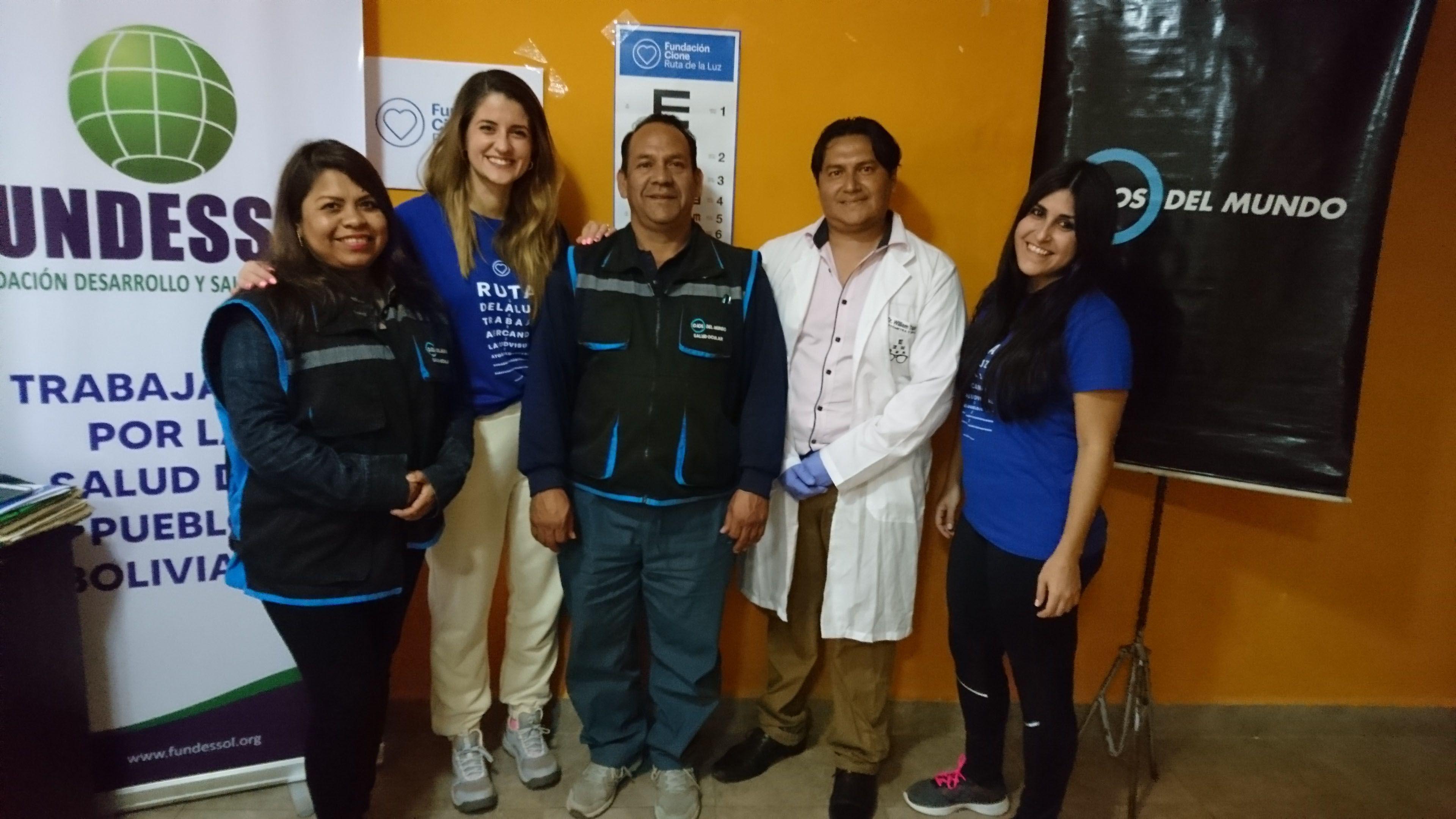 La Fundación Cione Ruta de la Luz vuelve a Bolivia