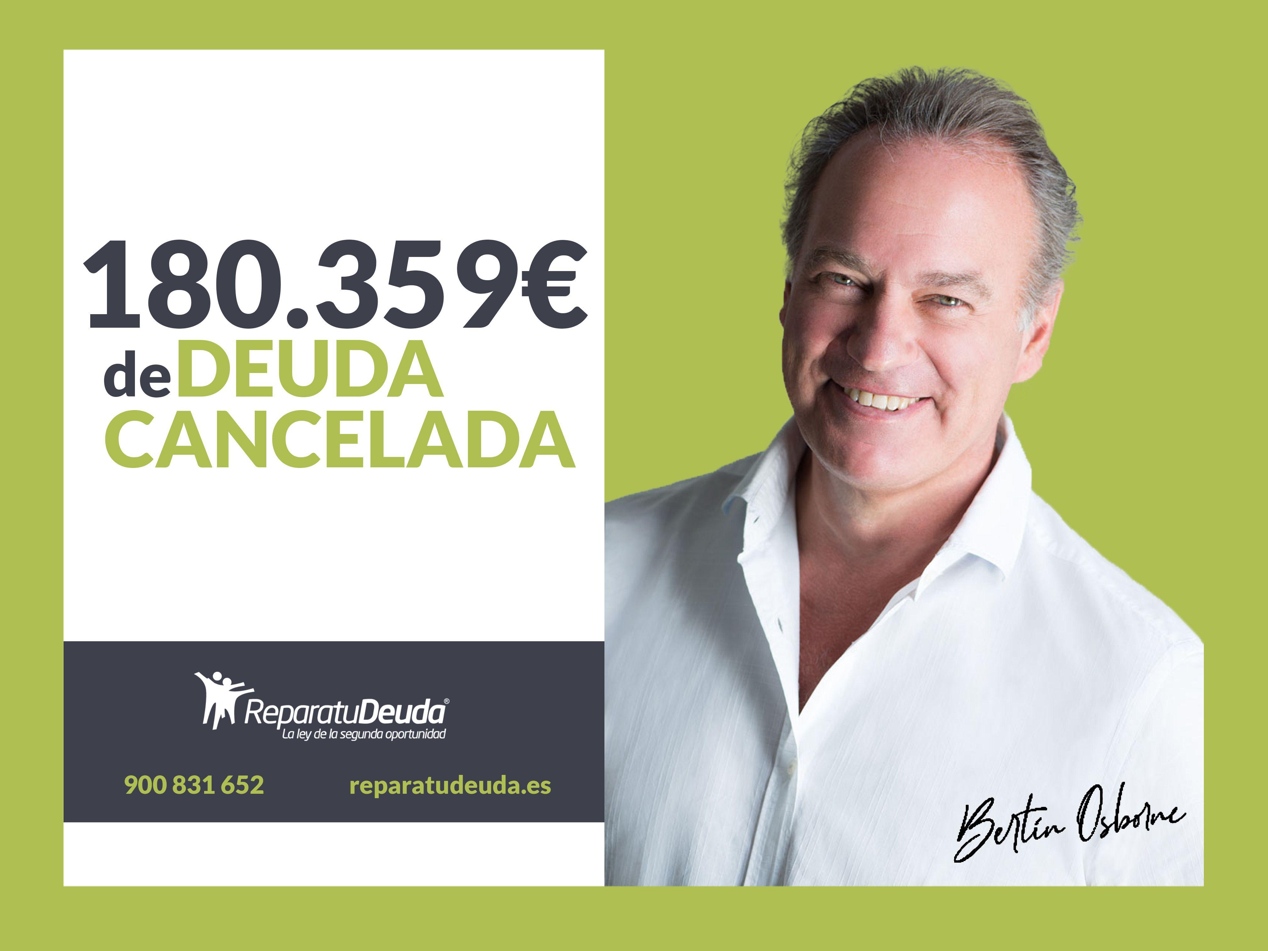 Repara tu deuda Abogados cancela  180.359 € en Lleida, Catalunya, mediante la Ley de Segunda Oportunidad