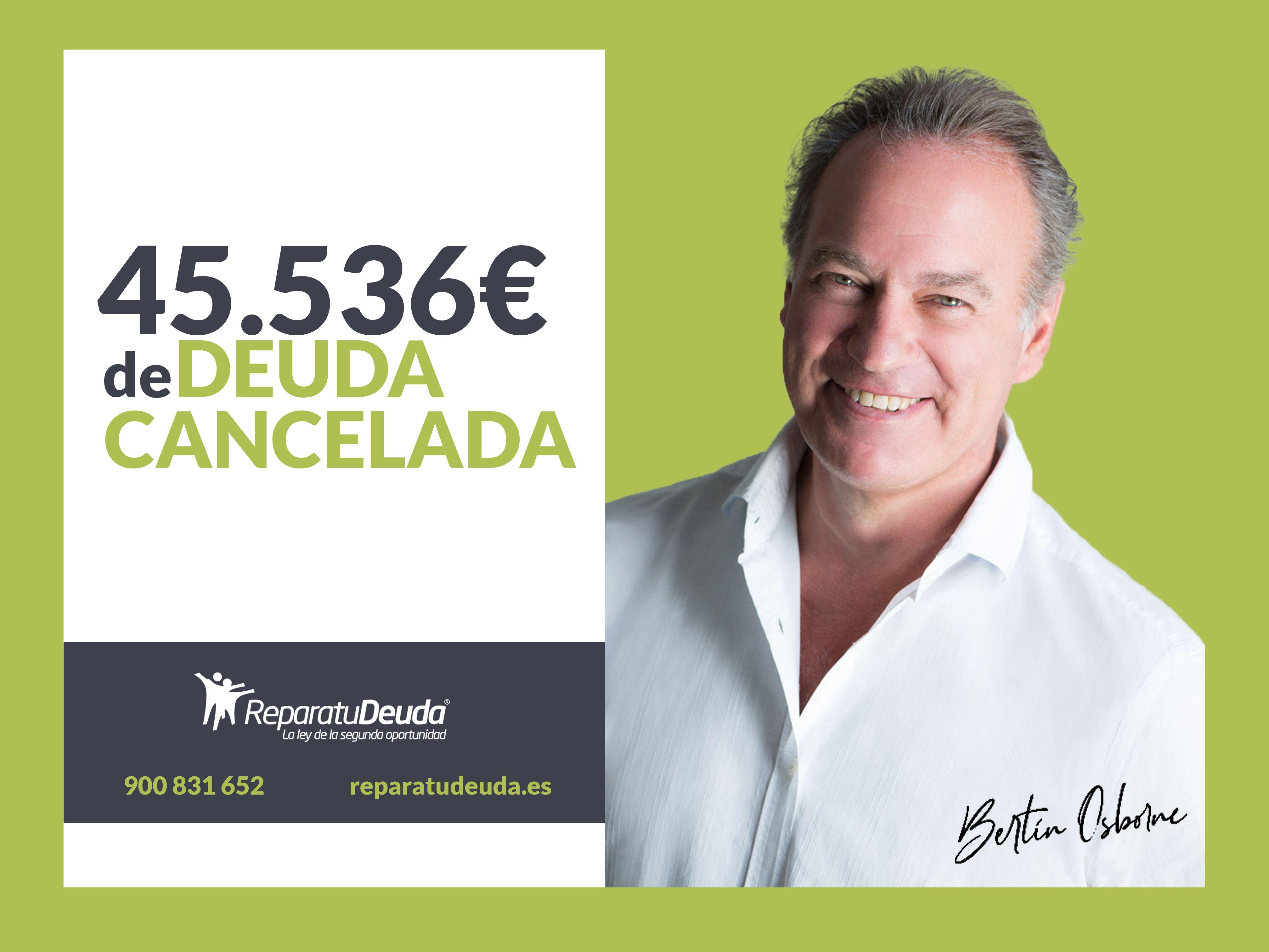 Repara tu deuda cancela 45.536 € incluidos fiadores en Barcelona con la Ley de la segunda oportunidad