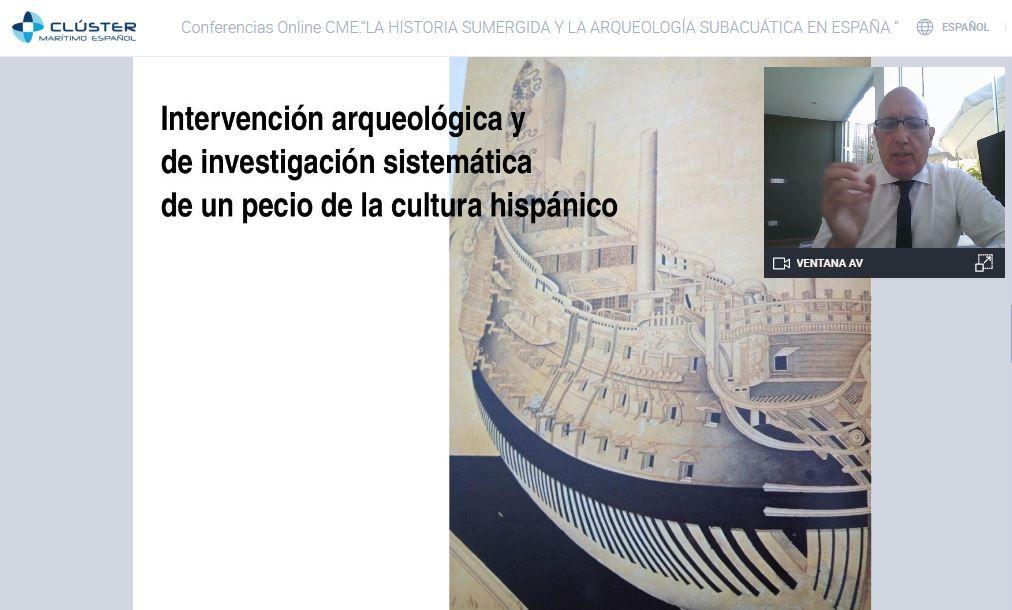 El Clúster reivindica el estudio y la defensa del patrimonio arqueológico subacuático español