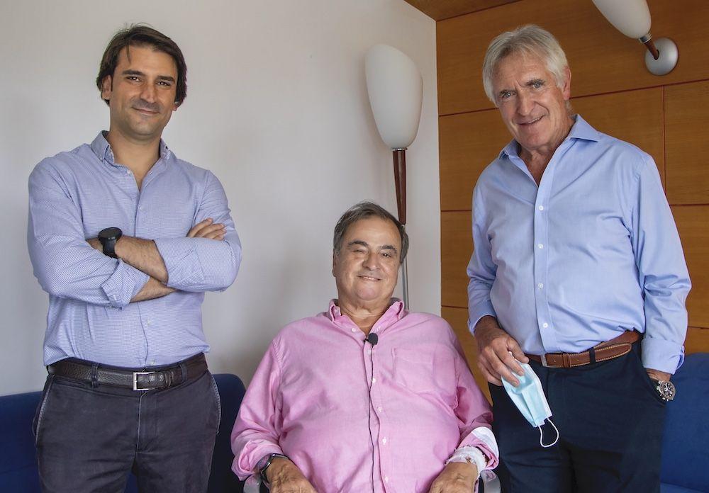 Paco Biosca, Jefe de los servicios médicos del Chelsea FC, recibe el alta en Policlínica Gipuzkoa