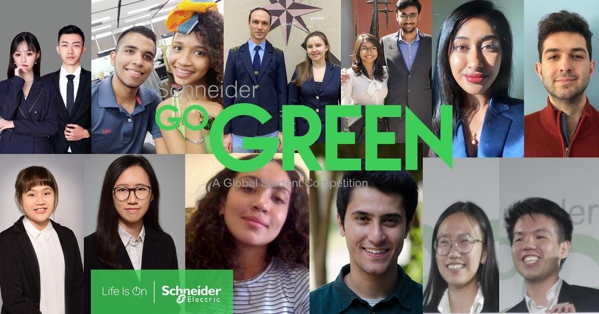 La final mundial de Schneider Go Green acogerá a los mejores alumnos para exponer sus propuestas
