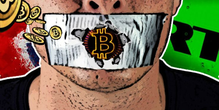 La censura en Internet sobre el mundo de las criptomonedas según los expertos