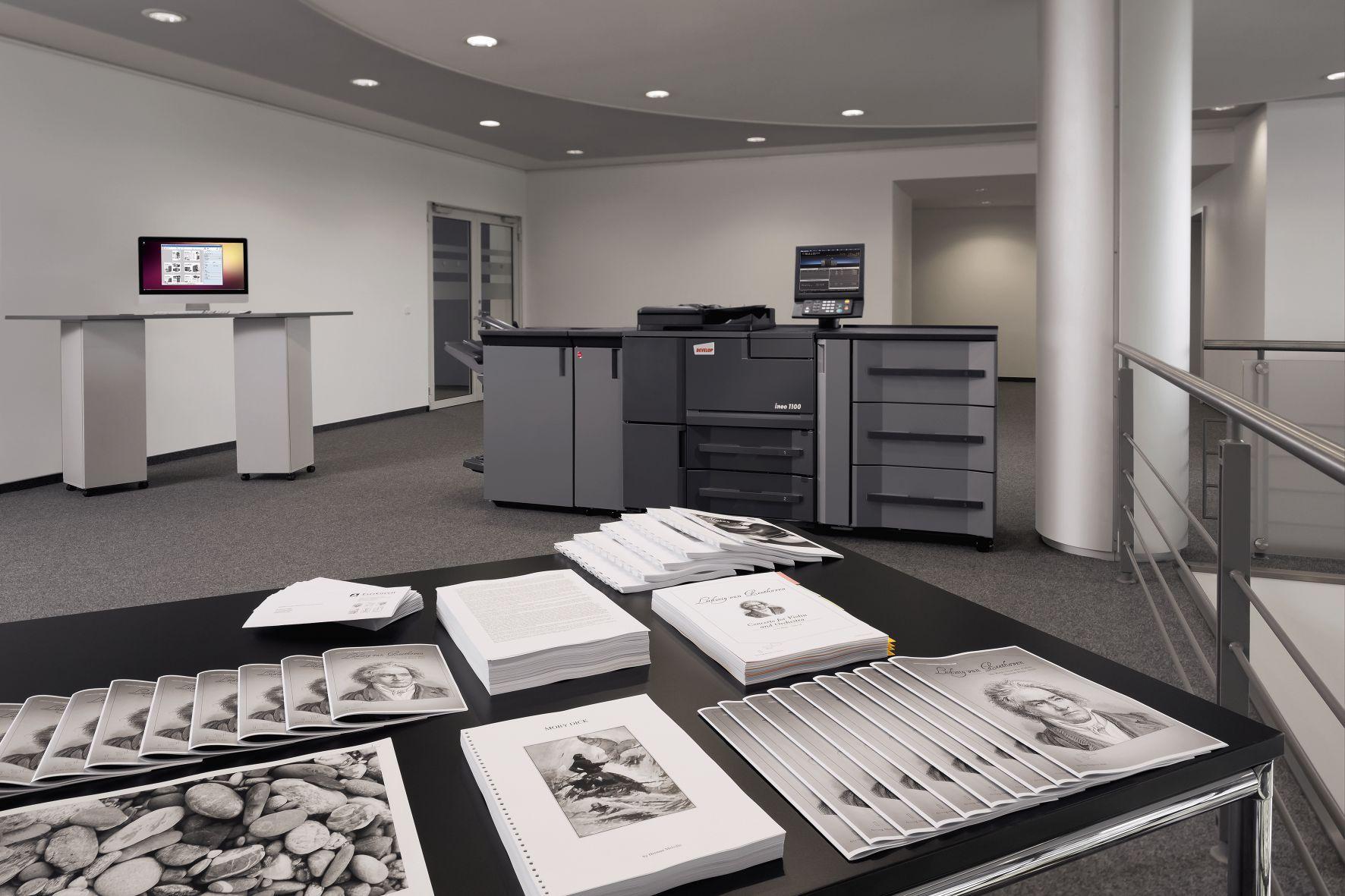 Características y ventajas de las impresoras DEVELOP para imprentas