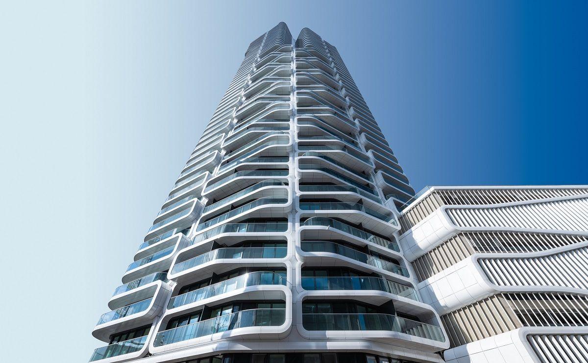 Máxima eficiencia energética en el edificio residencial más alto de Europa