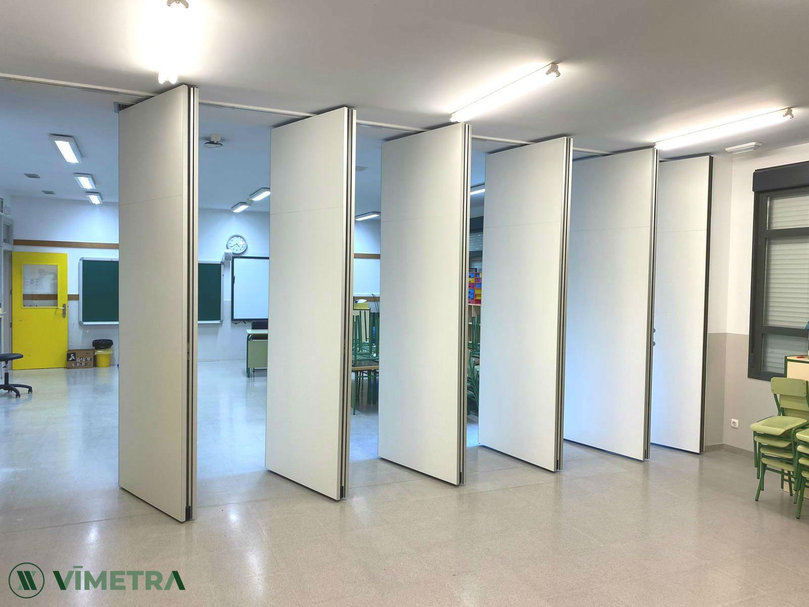 El fabricante de tabiques móviles Vimetra experimenta un aumento de la demanda del 100% por la vuelta al cole