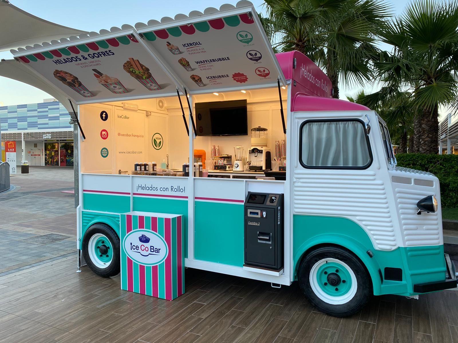 La cadena IceCoBar impulsa el crecimiento de su modelo Food Truck