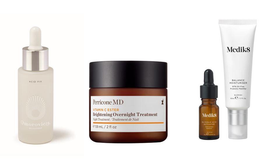 Estos productos con glicólico de firmas como Omorovicza vienen para arreglar la piel