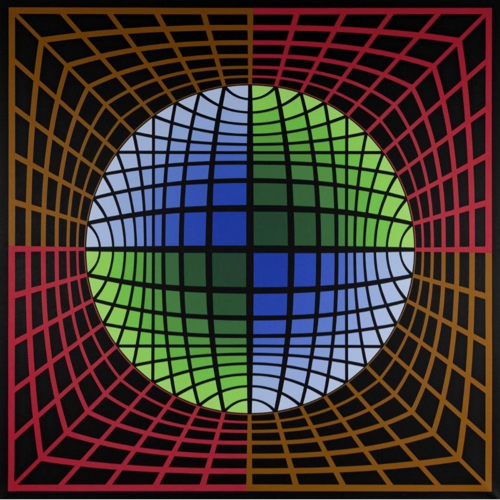 Dos imponentes obras de Victor Vasarely y Karel Apple protagonizan la próxima subasta de arte en Setdart