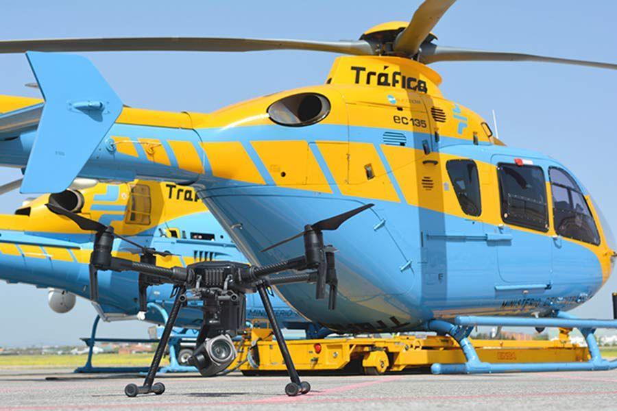 La operación de la DGT para captar infracciones con drones