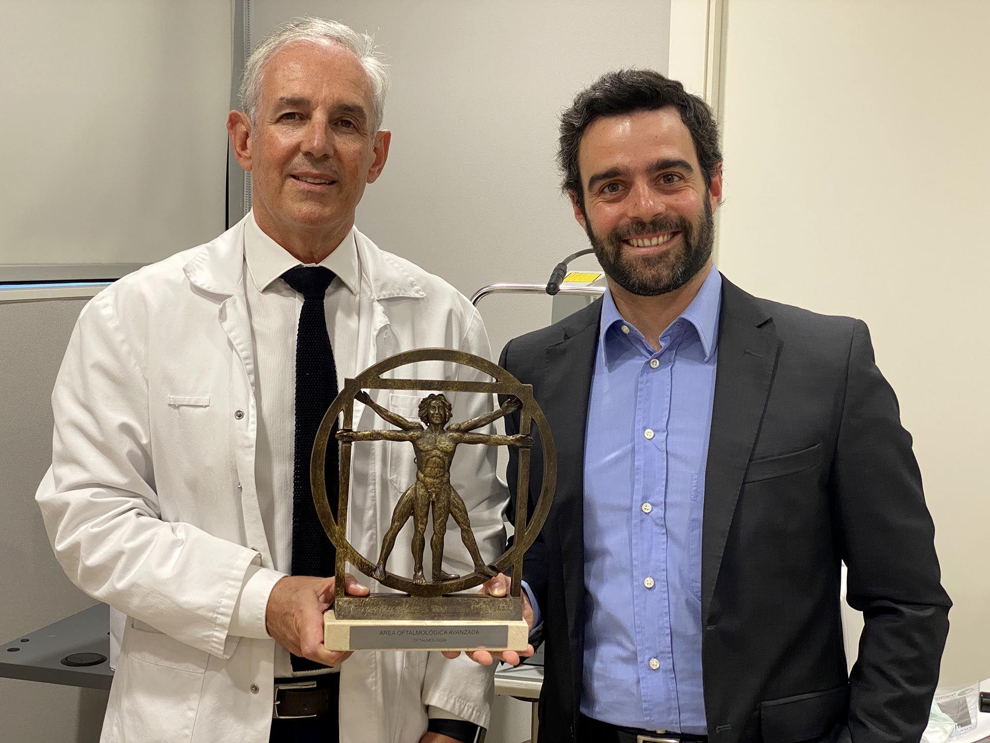 El Servicio de Oftalmología del Hospital Universitari Dexeus, Premio nacional de medicina siglo XXI