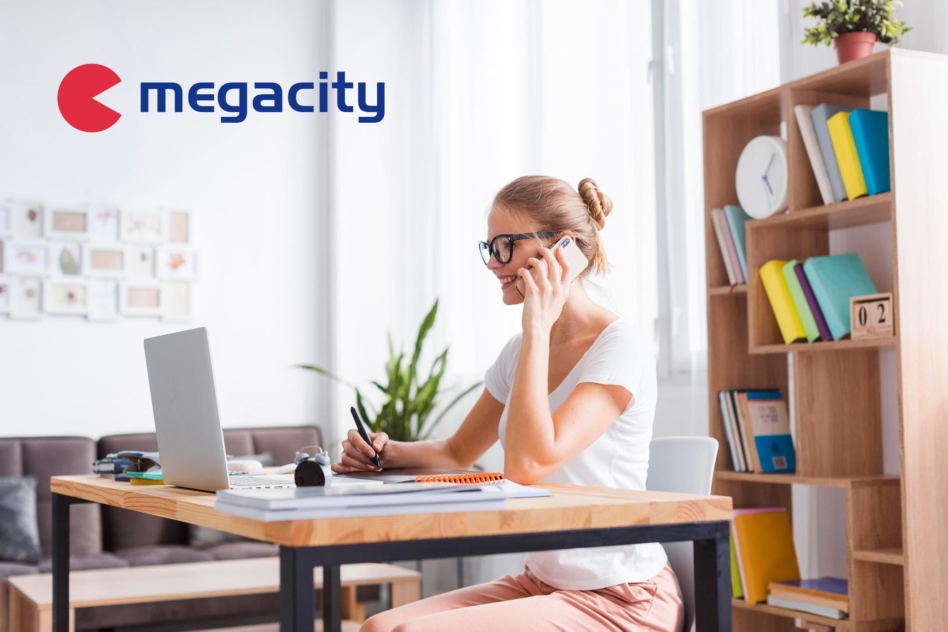 Megacity comprueba el aumento de la productividad en el teletrabajo con el material de oficina adecuado