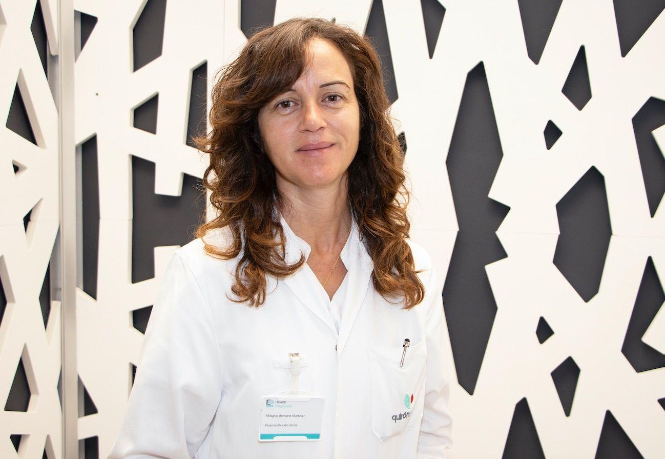 Mila Berruete, Responsable de Laboratorio:
