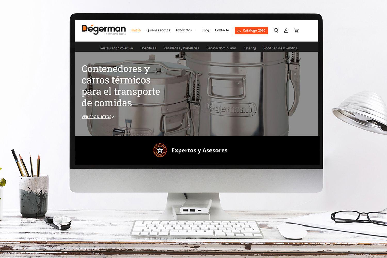 Dégerman lanza su nueva imagen y web