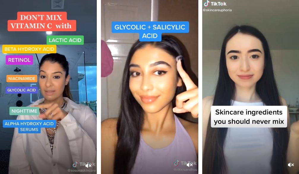 Tips (falsos) sobre cosmética vistos en TikTok, según expertos de firmas como Medik8