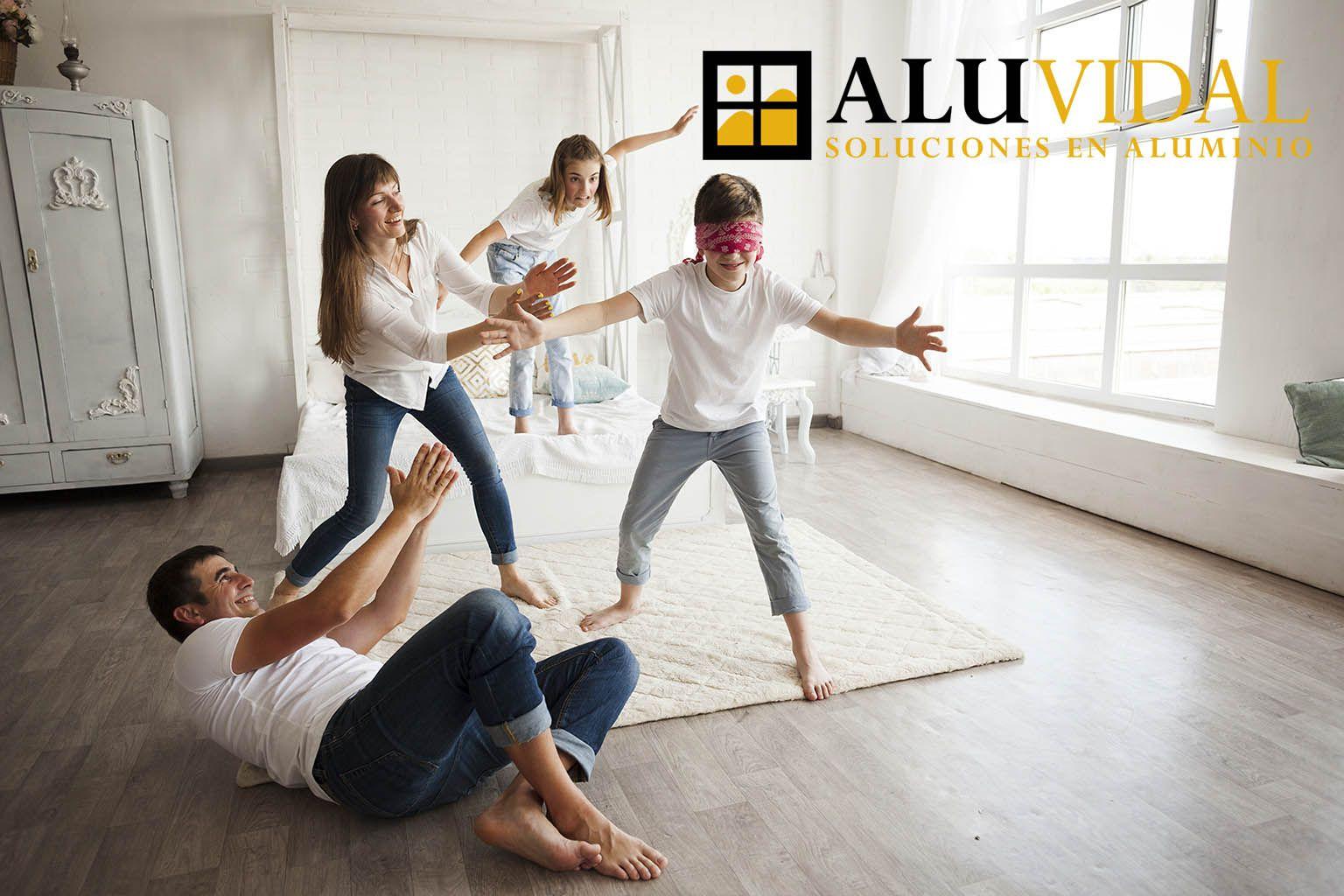 Aluvidal fabrica e instala ventanas con aislamiento térmico para aumentar el confort en los hogares