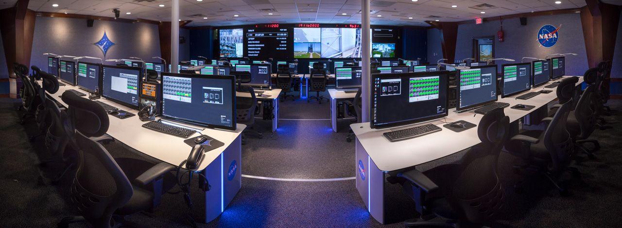 GESAB y Fountainhead Control Rooms modernizan ocho centros de control de la NASA