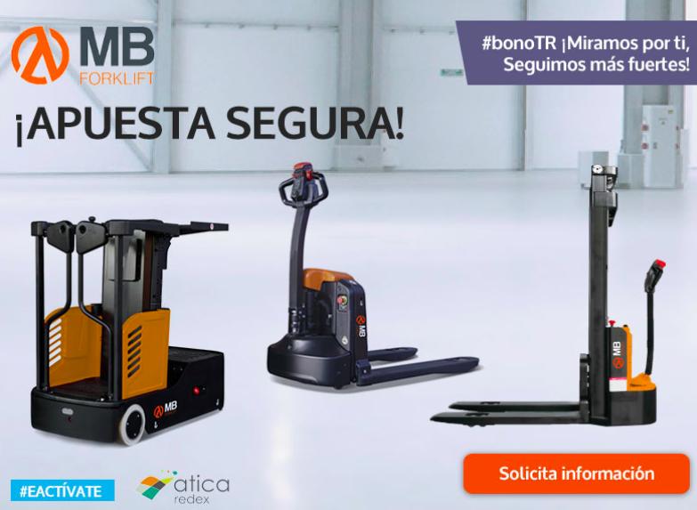 MB Forklift también presente en el plan de ayudas de Carretillas TR