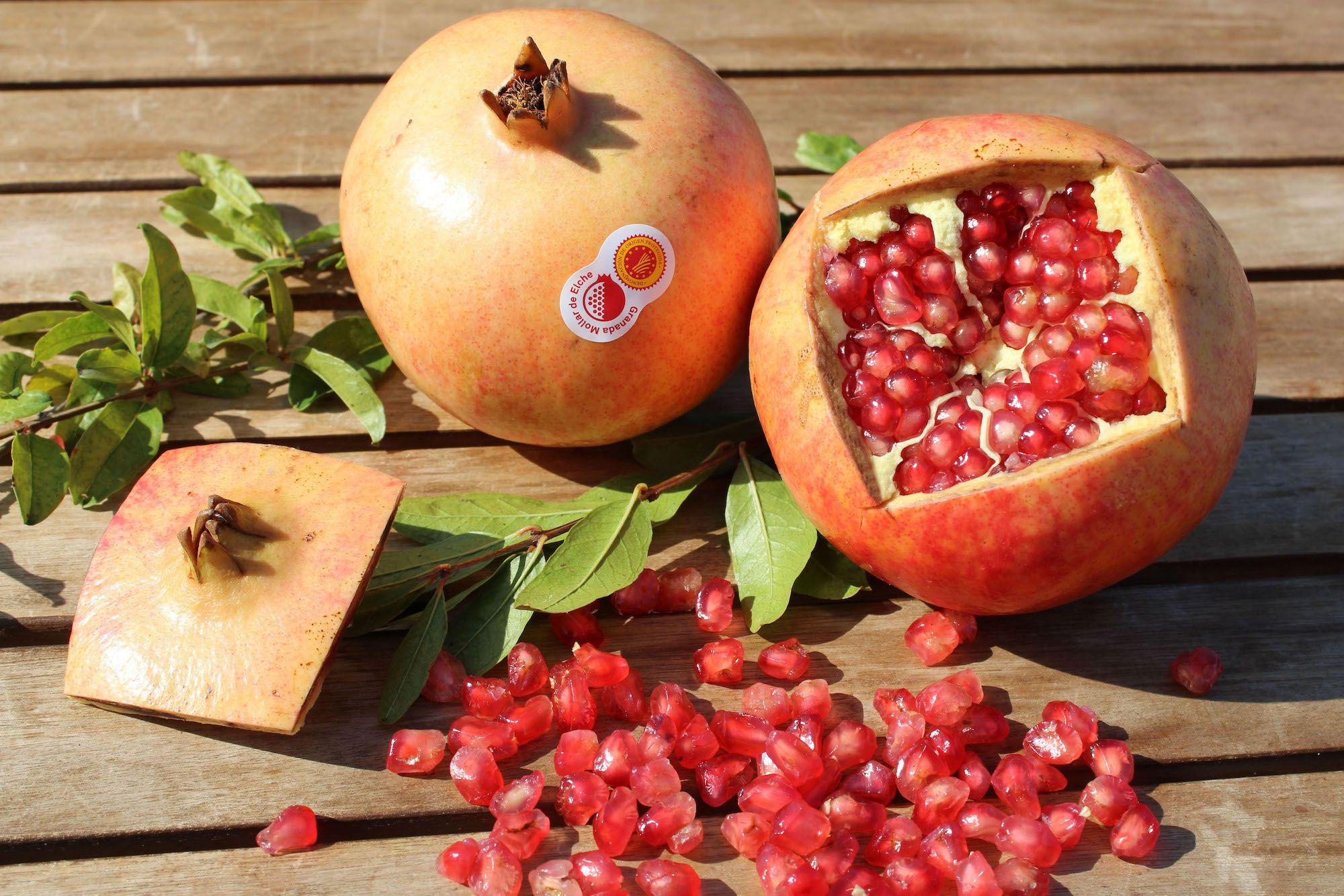 La granada, poder antioxidante que refuerza el sistema inmune