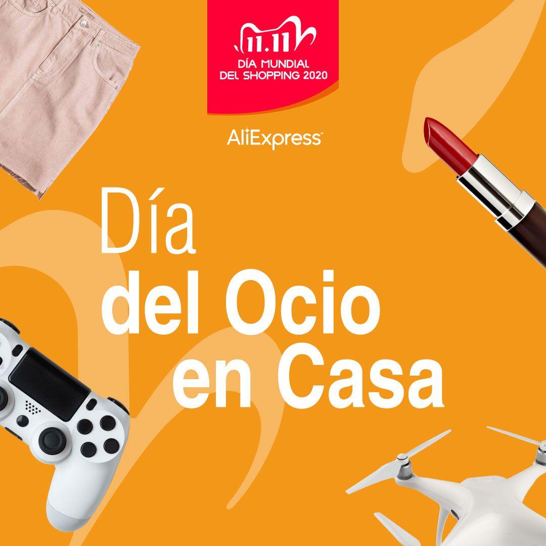 AliExpress crelebra el Día del Ocio en Casa con Cristina Pedroche, Sara Sálamo, Willyrex y Susana Bicho